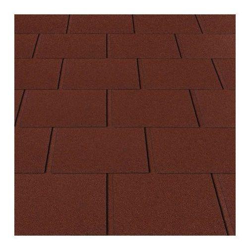 Matizol Gont prostokąt 3,2 m2 czerwony