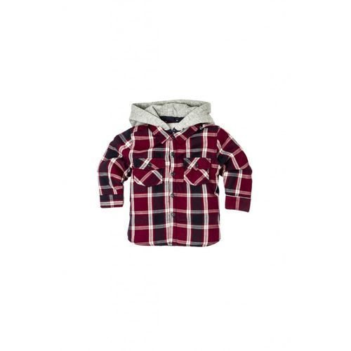 Minoti Koszula chłopięca w kratę 1j33aa (5033819812385)