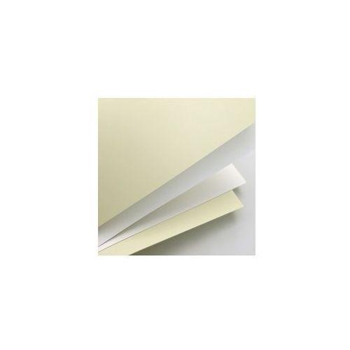 Papier ozdobny (wizytówkowy) gładki biały a4 250g marki Galeria papieru