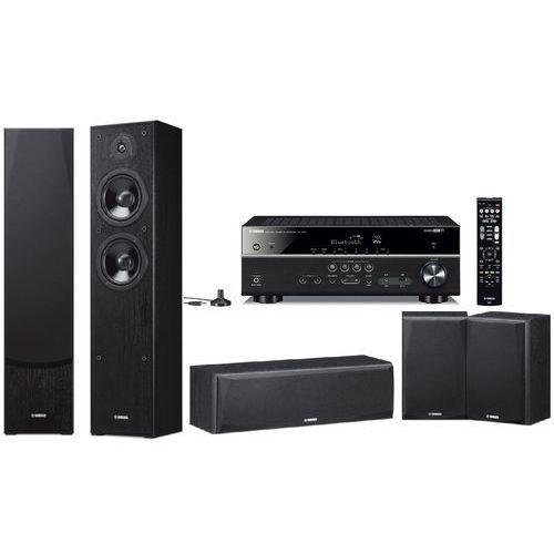 Kino domowe rx-v485 + ns-f51/ns-p51 czarny + zamów z dostawą jutro! + darmowy transport! marki Yamaha