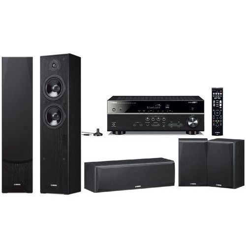 Yamaha Kino domowe rx-v485 + ns-f51/ns-p51 czarny + zamów z dostawą jutro! + darmowy transport!