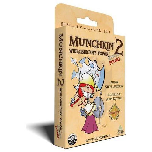 Munchkin 2 - wielosieczny topór gra marki Black monk