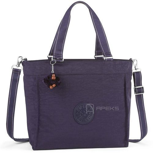 Kipling NEW SHOPPER L torba damska na ramię / Blue Purple - Blue Purple