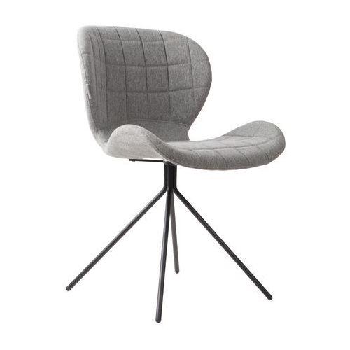 Krzesło OMG JASNOSZARE, kolor szary