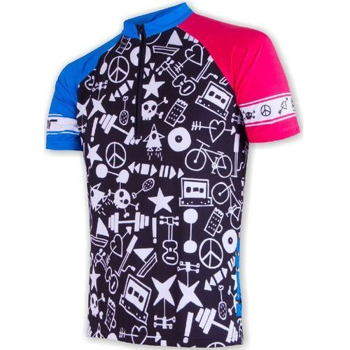 męska koszulka rowerowa cyklo priority black marki Sensor
