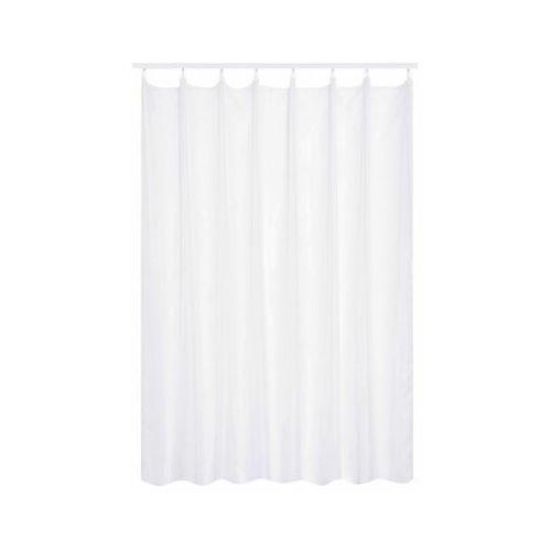 Firana na taśmie POLYONE 300 x 280 cm biała INSPIRE, kolor biały