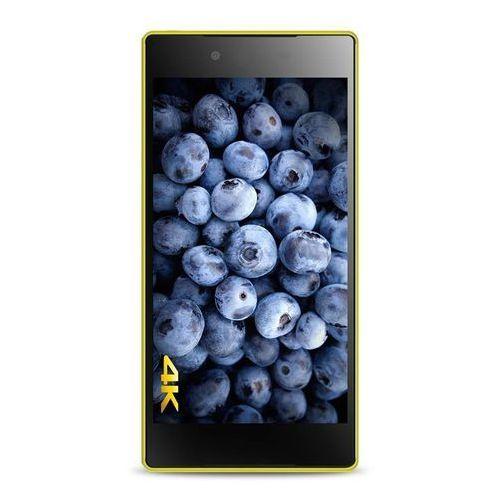 "Rovens.pl PURO Ultra Slim ""0.3"" Cover - Zestaw etui + folia na ekran Sony Xperia Z5 Premium (limonkowy)"