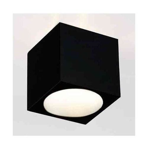 Spot lampa sufitowa cubo nero metalowa oprawa natynkowa kostka cube czarna marki Orlicki design