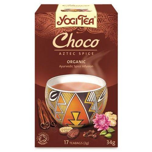 Herbata Czekoladowa BIO (Yogi Tea) 17 saszetek po 2g - sprawdź w wybranym sklepie