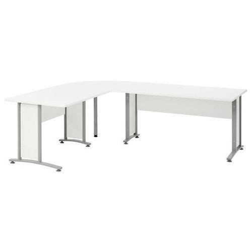 Biurko narożne Prima 200 x 200 Tvilum - biały, 80400/30349