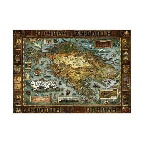 HEYE 2000 EL. Map of Zamonia