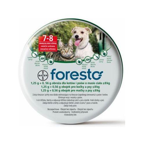 OKAZJA - FORESTO OBROŻA PRZECIW PCHŁOM I KLESZCZOM dla psów i kotów o wadze do 8kg [, PBAY001