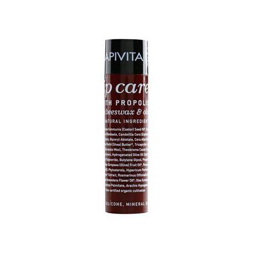 Apivita Lip Care Propolis balsam do suchych i popękanych ust (Organic Beeswax & Olive Oil) 4,4 g (5201279016685)