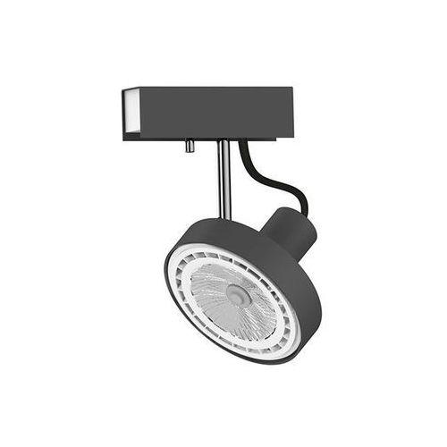 Listwa spot light cross 9598 lampa oprawa sufitowa 1x75w gu10 es111 czarny marki Nowodvorski