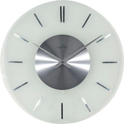Nextime Zegar ścienny sterowany radiowo stripe 40 cm (3147)