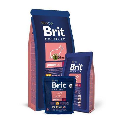 premium junior l sucha karma dla dorastających dużych psów 3 kg marki Brit