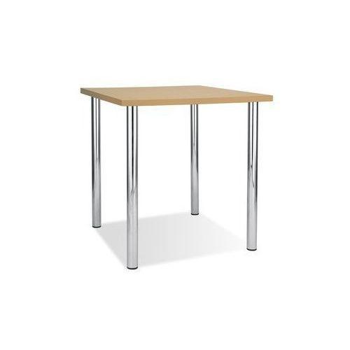 Podstawa stołu kaja chrome ø60 (regulowana wysokość) marki Nowy styl