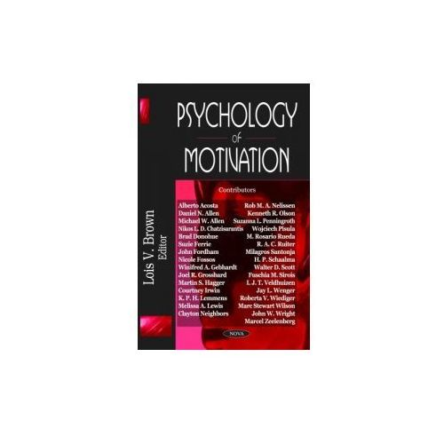 Psychology of Motivation (2007)
