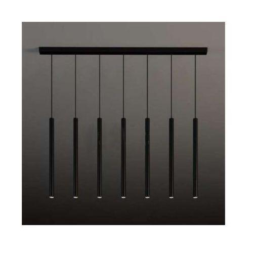 LAMPA wisząca YABU 5529 Shilo metalowa OPRAWA zwis LISTWA sufitowa sople tuby czarne, kolor biały;czarny