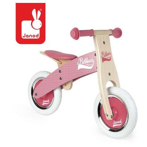 Rowerek biegowy różowy little bikloon 2+ - marki Janod