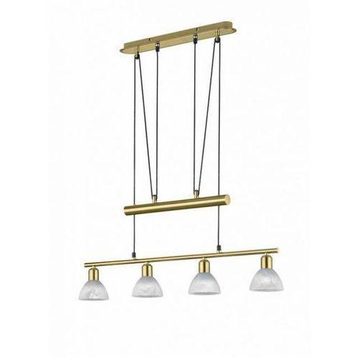 levisto lampa wisząca led mosiądz, 4-punktowe - dworek/vintage - obszar wewnętrzny - levisto - czas dostawy: od 3-6 dni roboczych marki Trio