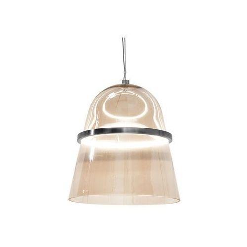 Lampa wisząca LED szklana bursztynowa ARDILLA (4260586357820)
