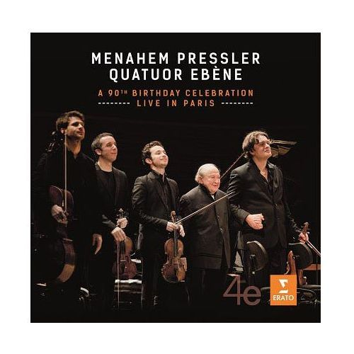 Menahem Pressler - The 90th Birthday Celebration [CD/DVD] - Menahem Pressler, Quatuor Ebene