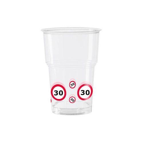 Folat Kubeczki przezroczyste znak zakazu 30tka - 350 ml - 10 szt.