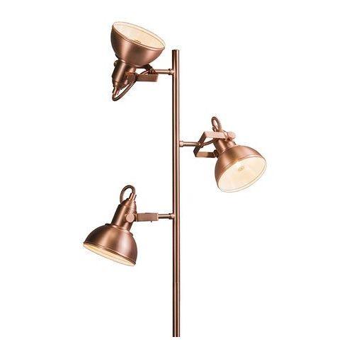 Lampa podlogowa tommy 3 miedz marki Qazqa