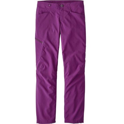 Patagonia rock pants spodnie materiałowe geode purple (0190696410891)
