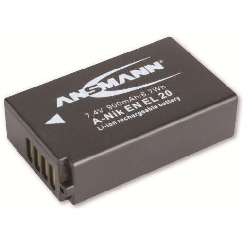Akumulator ANSMANN do Nikon A-Nik EN EL 20 (900 mAh)