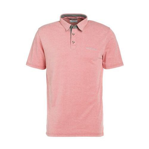 Columbia NELSON POINT Koszulka polo red spark