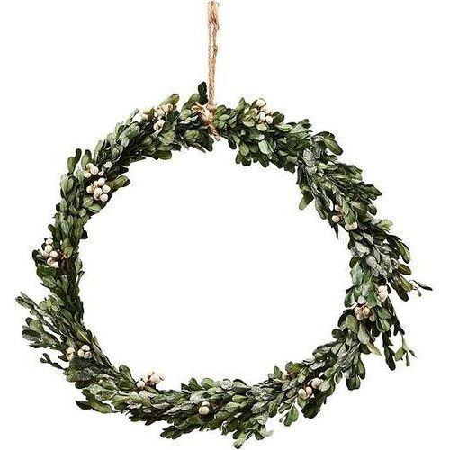 House doctor Dekoracja świąteczna mistletoe wieniec 35 cm
