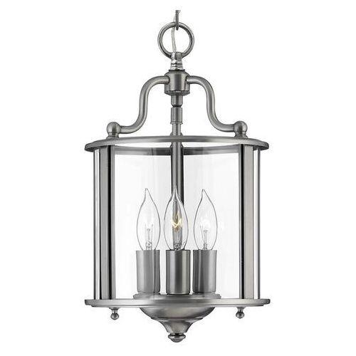 Lampa wisząca GENTRY HK/GENTRY/P/S PW - Elstead Lighting - Rabat w koszyku, kolor Srebrny