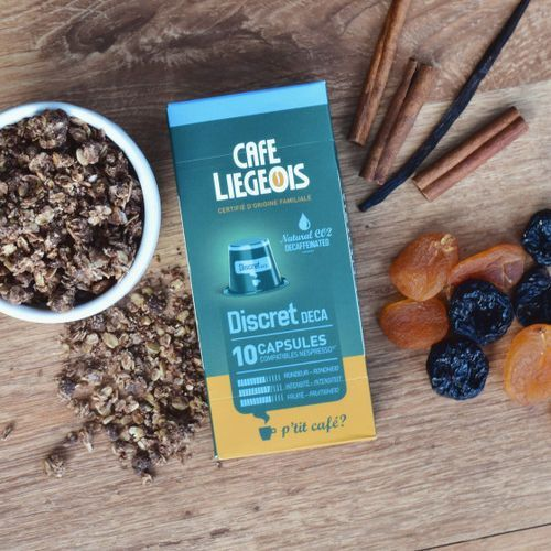 Kawa w kapsułkach Cafe Liegeois