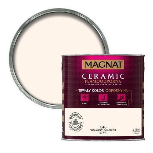 Śnieżka Farba magnat ceramic powabny diament 2,5 l