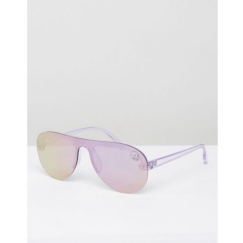 Cheap Monday Aviator in Lilac Mirror - Purple