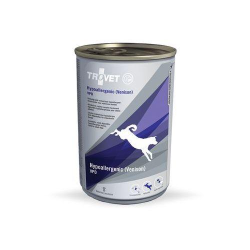 TROVET Venison Potato Diet (VPD dla psów) - puszka 400g (8716811001663)