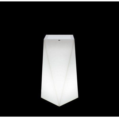 Donica podświetlana nevis 75 cm (barwa zimna) marki Decolovin