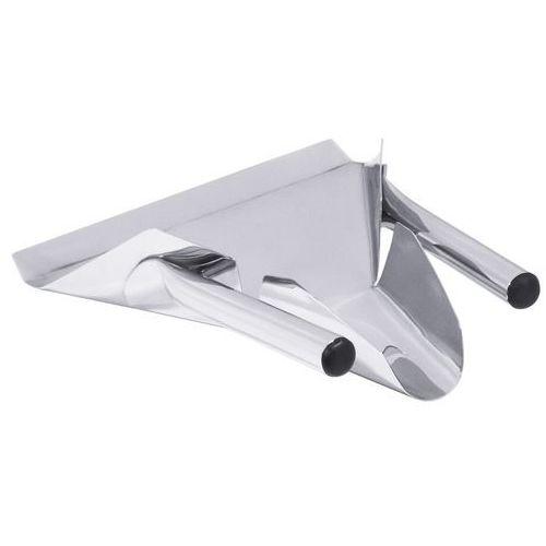 Szufelka metalowa do nakładania frytek z podwójną rączką, 230x210 mm | CONTACTO, 5610/233
