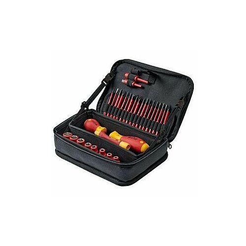 Zestaw narzędzi Wiha slimVario® electric mieszany - 31 sztuk w funkcjonalnej torbie (4010995434656)