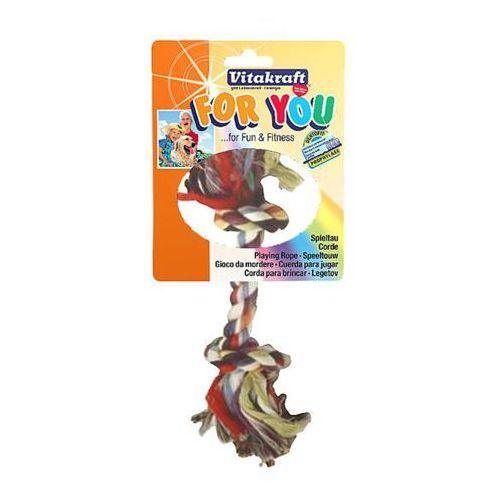 Vitakraft for you - zabawka dla psa sznur kolor 20cm/50g