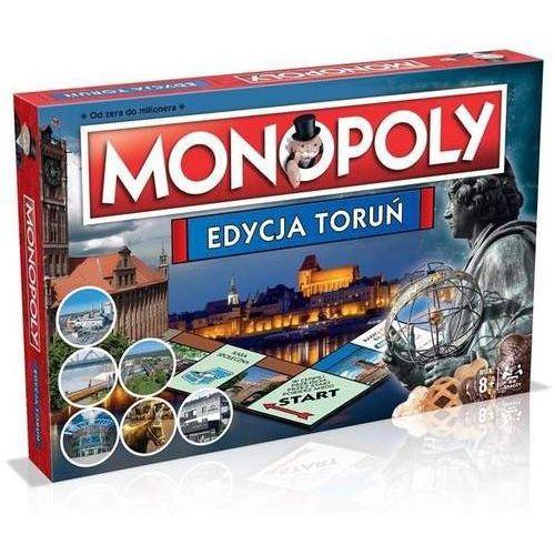 Monopoly edycja toruń - hasbro. darmowa dostawa do kiosku ruchu od 24,99zł marki Winning moves