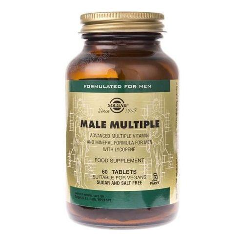 Tabletki Solgar Male Multiple dla mężczyzn - 60 tabletek