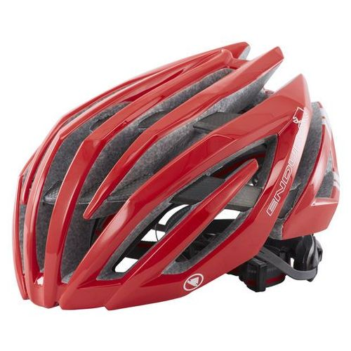 Endura Airshell Kask rowerowy czerwony 51-56 cm 2017 Kaski rowerowe (5055205366845)