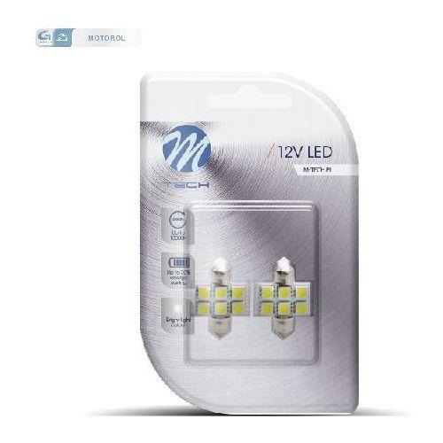LB027W ZAROWKA LED 12V C5W 1.4W 31MM 6XSMD5050, MTELB027W