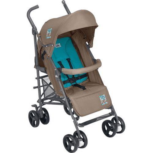 CAM Wózek spacerowy Flip + pokrowiec na nóżki – brązowo-niebieski - sprawdź w wybranym sklepie