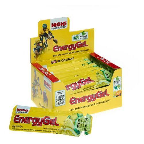 High5 energygel żywność dla sportowców lemon 20 x 40g 2018 zestawy i multipaki