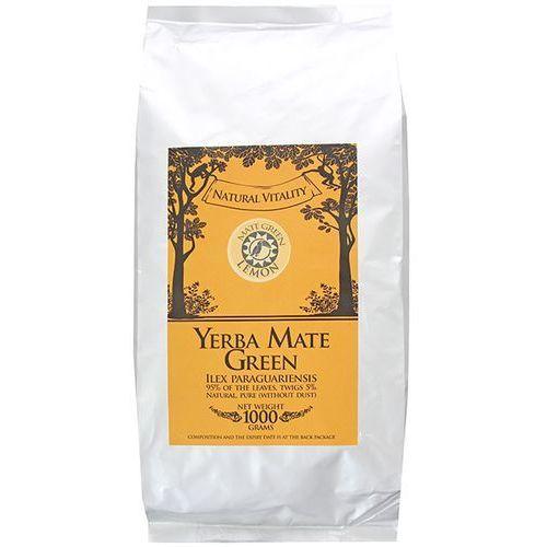 YERBA MATE GREEN 1kg Lemon | DARMOWA DOSTAWA OD 150 ZŁ! - produkt z kategorii- Kuchnie świata