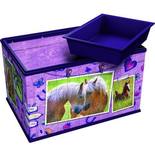 Puzzle 3dkuferek na skarby konie 216 marki Ravensburger